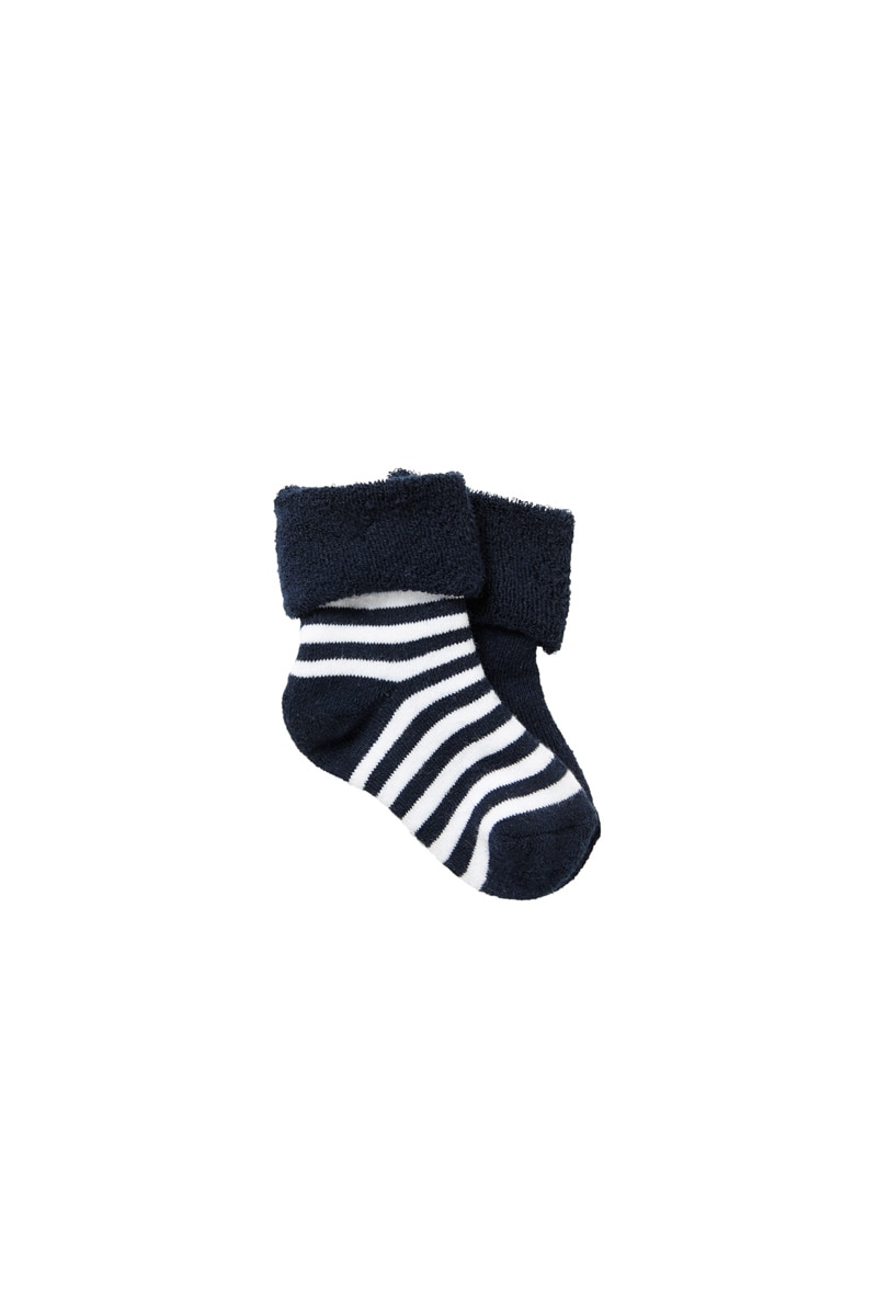 Bonds Wondersock 6 Pack - Blue / 1-2 (6-12 Months)