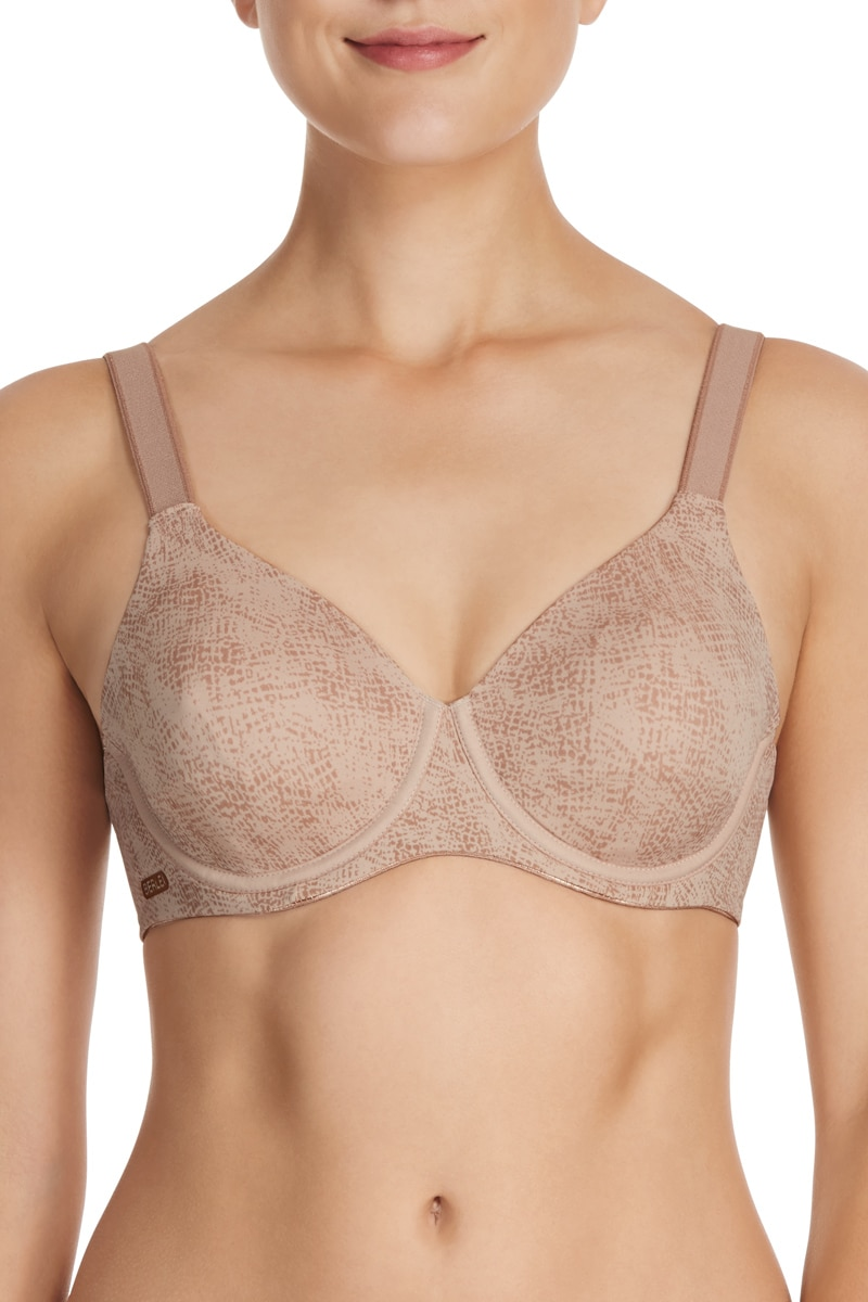 Berlei High Performance Underwire Bra - Dark Mocha / 18 D